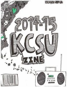 KCSU Zine Cover