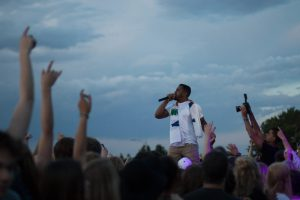 R.City excites the crowd at RamFest 2016. Photo courtesy of Chapman Croskell of The Rocky Mountain Collegian.