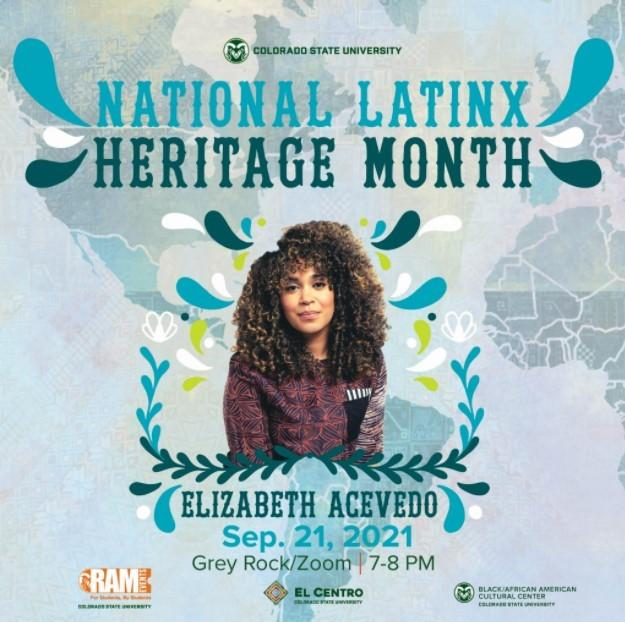 Latinx Heritage Month Keynote: Elizabeth Acevedo